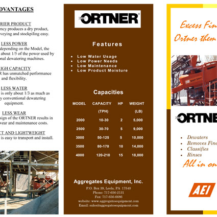 The Ortner® Brochure