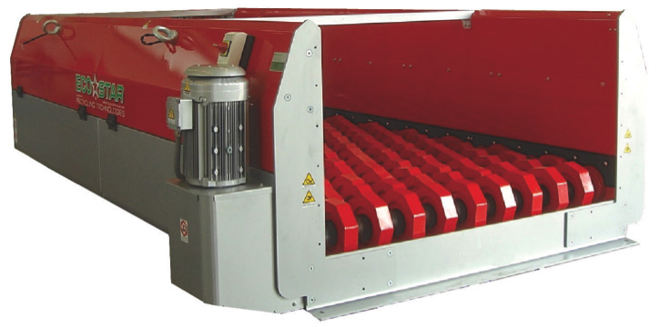 eco-star screen for coarse screening